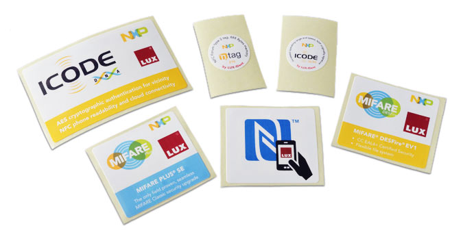 HF & NFC and UHF Labels - LUX-IDent s r o  - the leading